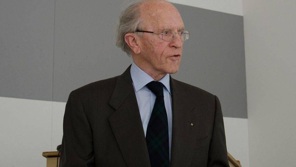 Der Dirigent und Musikpädagoge Jean-Jacques Rapin (1932-2015, Bild Handout)