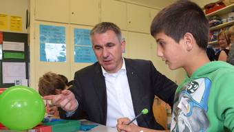 Befürwortet den Lehrplan 21: SVP-Regierungsrat Alex Hürzeler.
