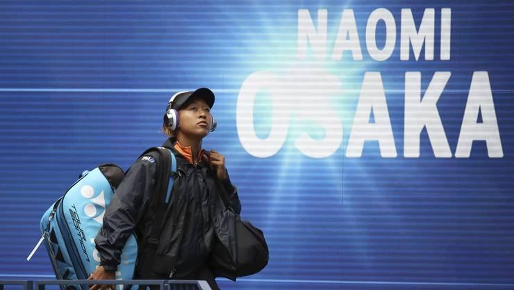 Naomi Osaka ist das oft traurige Gesicht der neuen Generation (Bild: AP).