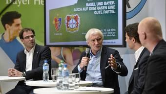 Rudi Völler und Georg Heitz im Fussball-Talk