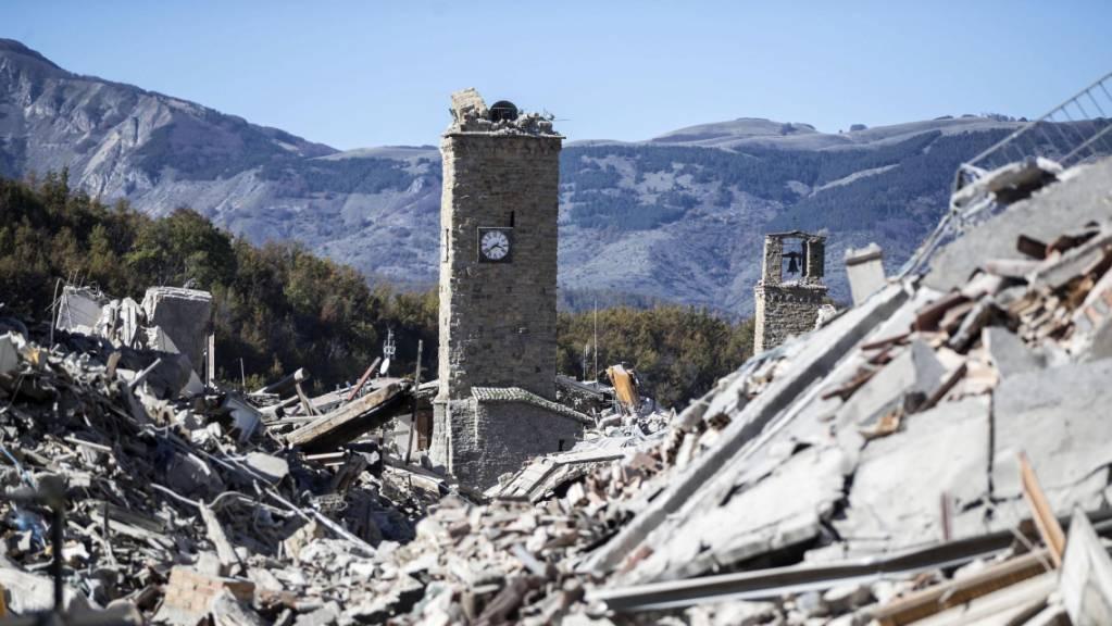 Das schwere Erdbeben im italienischen Amatrice ist fünf Jahre her.