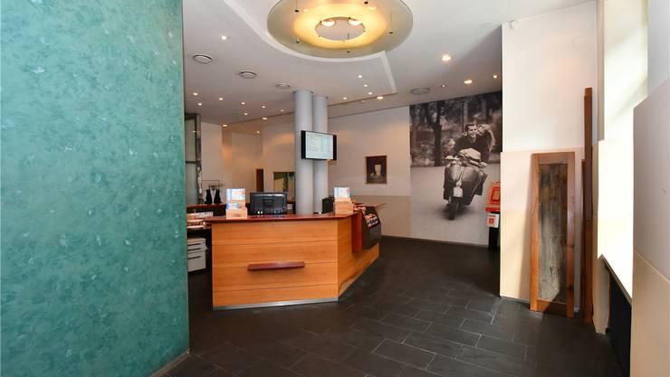 Im früheren Bereich der Kasse im Restaurant Bahnhofbuffet wird das neue Starbucks Café im Dezember eröffnet.