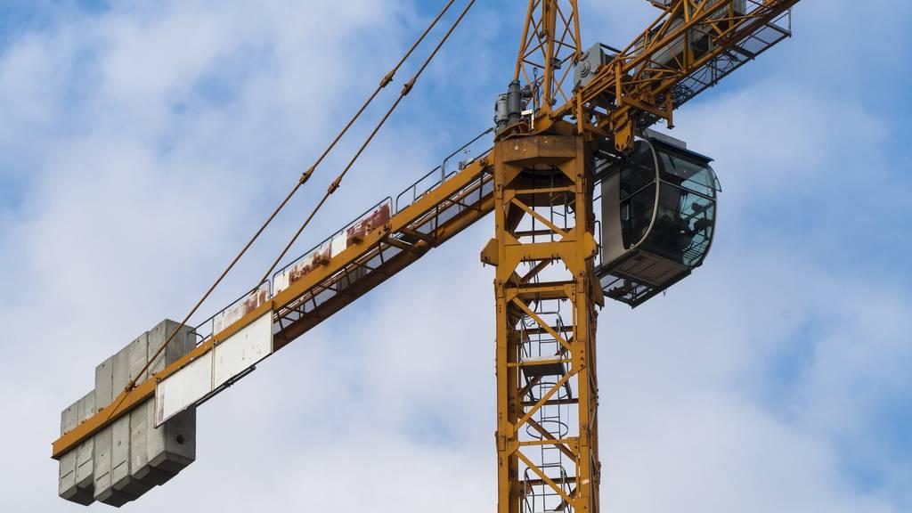 Auf einer Baustelle in Frauenfeld stirbt ein 52-jähriger Arbeiter.