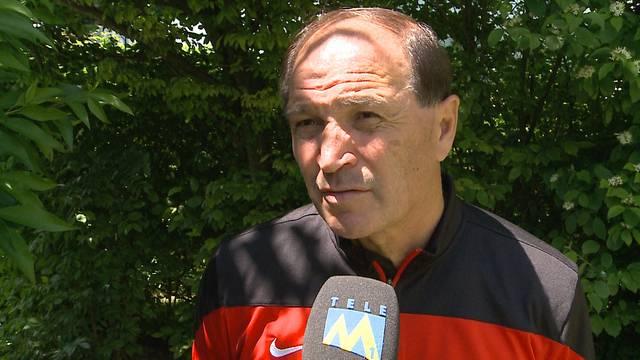 29.5.2015: Raimondo Ponte muss den FC Aarau als Trainer verlassen – das sagt er dazu.