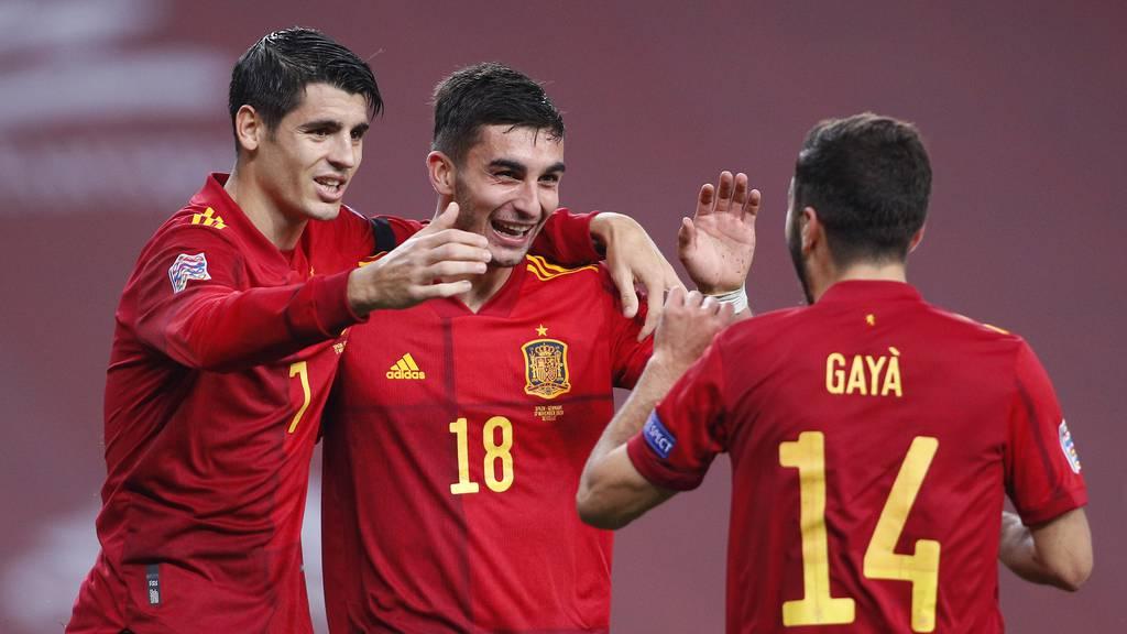 Spanien fegt Deutschland mit 6:0-Sieg vom Platz