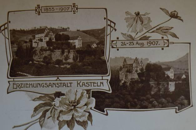 Armin Käser hielt 2017 im Zehntenstock in Oberflachs einen heimatkundlich-geschichtlichen Vortrag zu Bränden im Schenkenbergertal.