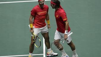 Rafael Nadal und Feliciano Lopez sorgten für den Finaleinzug der Spanier
