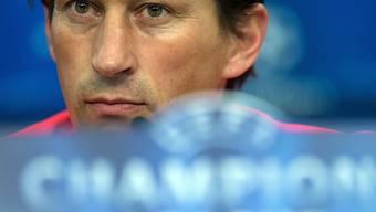 Leverkusen-Coach Roger Schmidt kassierte einen 3:3-Dämpfer.