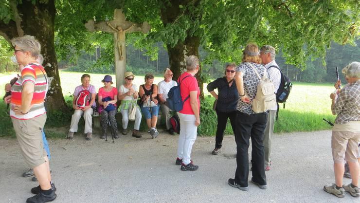 Eine Pause in Hochwald