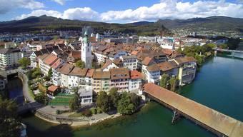 Oltner Altstadt im Kanton Solothurn. (Archiv)