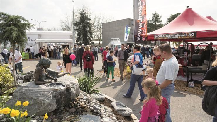 Die Veranstalter rechnen mit 20 000 Besuchern an der «Bauen und Wohnen» in Wettingen.