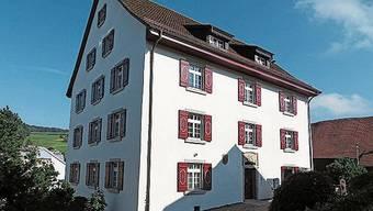 Das «neue» Gemeindehaus in Rudolfstetten.