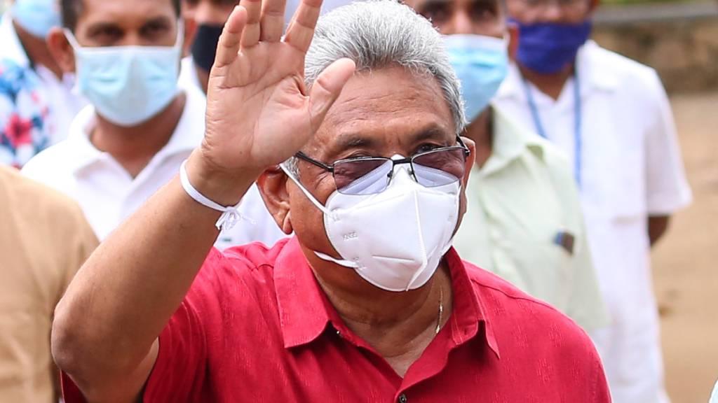 Sri Lankas Regierungspartei steuert auf klaren Wahlsieg zu