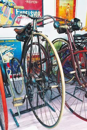 Für Velofreunde: das Zwei-Rad-Museum in Oeschgen.