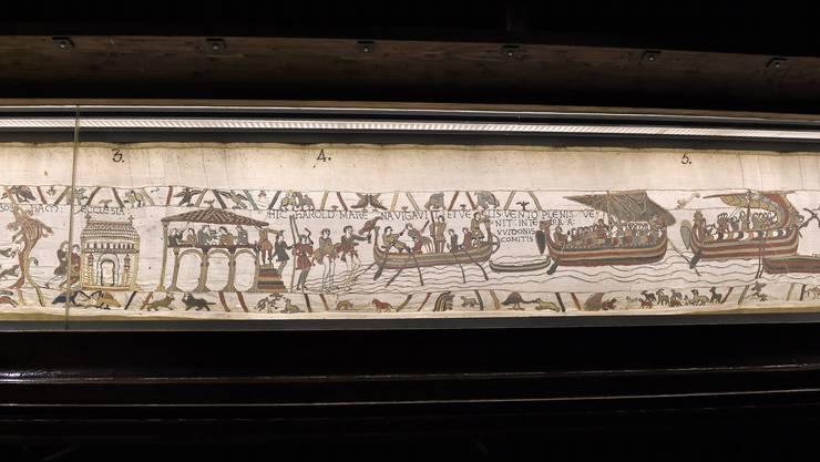 Der Teppich von Bayeux.