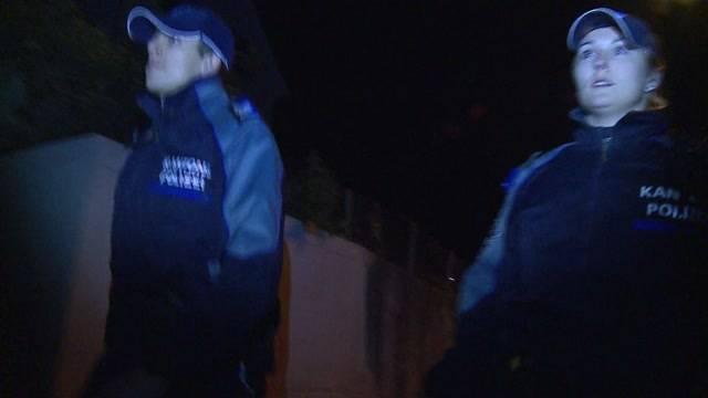 Kantonspolizei auf Einbrecherjagd