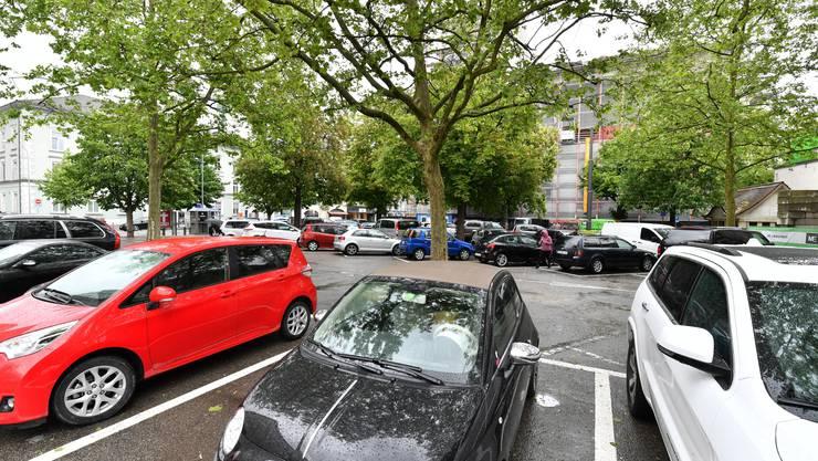 Der Munzingerplatz soll diesmal auch Teil des Parkleitsystems sein.