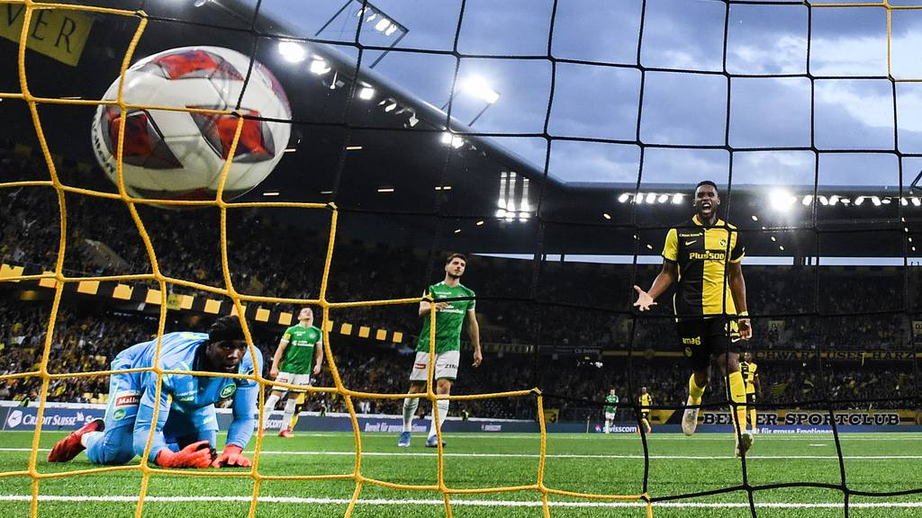 Der FC St.Gallen verliert mit 1:2 gegen YB