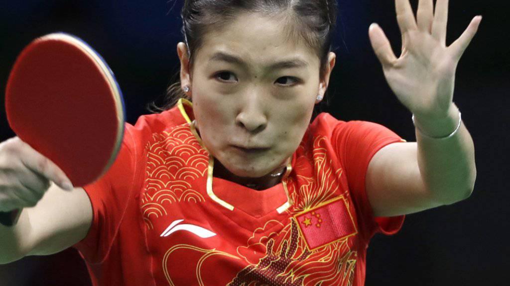 Die Weltnummer 1 Liu Shiwen wurde für das Einzel nicht berücksichtigt