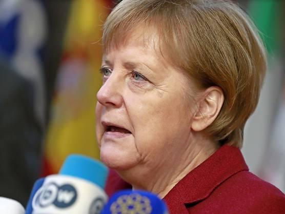 Die deutsche Kanzlerin Angela Merkel.