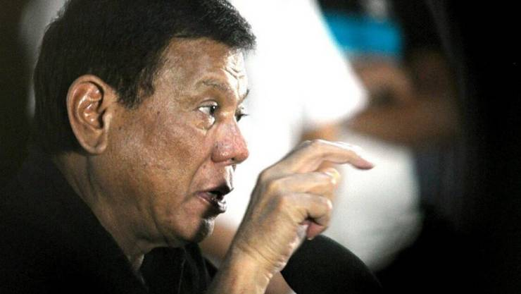 Rodrigo Duterte zeigt sich gern als raubeiniger Hardliner.