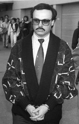 Alfredo Lardelli während seines Prozesses im März 1989.