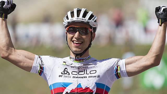 Nino Schurter liess die Konkurrenz einmal mehr hinter sich