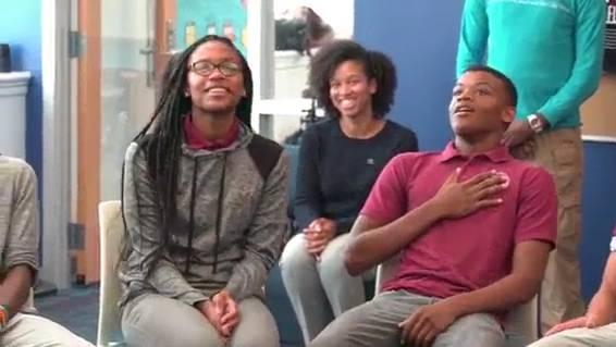 «Hey, wie läufts?»: Obama verschreckt Schüler
