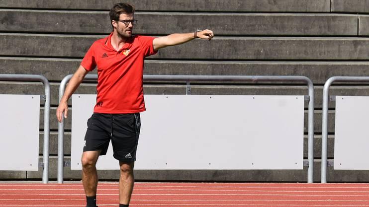 Raphael Wicky ist Trainer der Basler U21-Mannschaft.