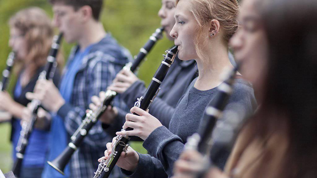 Der Bundesrat hat neue Instrumente zur Kulturförderung  in Kraft gesetzt. Dazu gehört unter anderem das Programm «Jugend und Musik», mit dem beispielsweise Musiklager für Kinder und Jugendliche gefördert werden sollen. (Archivbild)