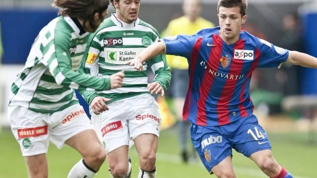 Nachspiel für Valentin Stocker (rechts)