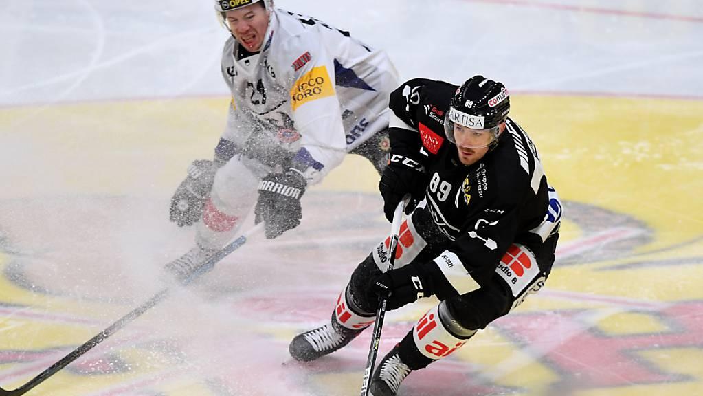 Mikkel Boedker ist mit dem HC Lugano weiterhin gut im Schuss.