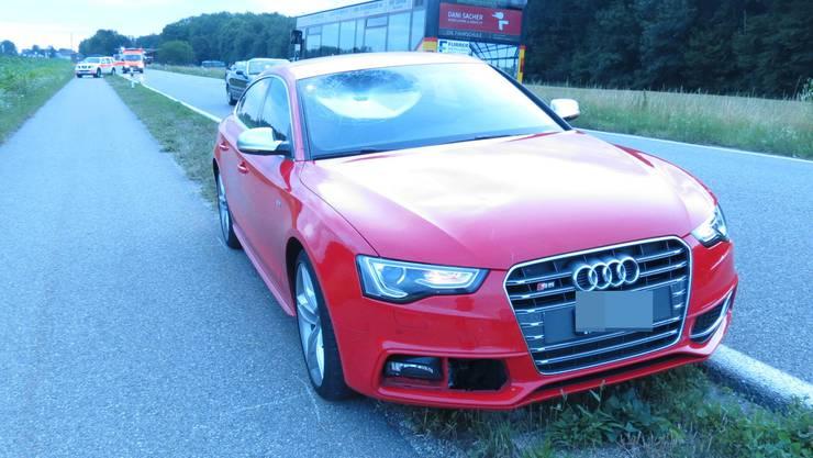 Der Audi-Fahrer wollte die Radrennfahrerin überholen, als es zur Kollision kam