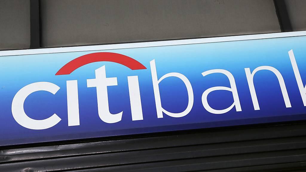 Eine Frau übernimmt das Zepter bei der Citi: Logo der Bank (Symbolbild).