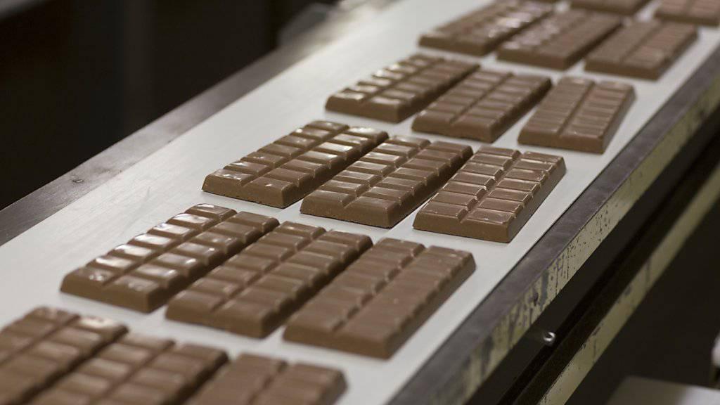 Schweizer Schokolade erfreut sich im Ausland wachsender Beliebtheit. (Archiv)