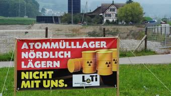 Scheint gewirkt zu haben: Die Nein-Kampagne der Gegner eines Atommülllagers «Nördlich Lägern». Keystone