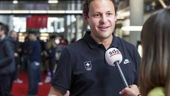 Optimistisch im Hinblick auf die Winterspiele 2018: Chef de Mission Ralph Stöckli
