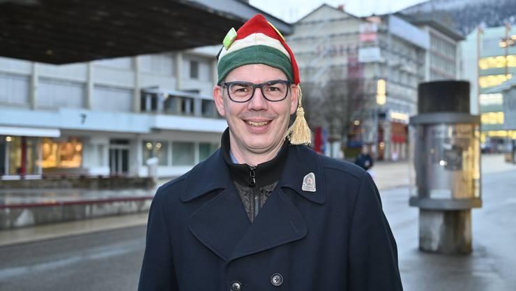 Patrick Meier alias Patrick I., der neue Obernarr der Grenchner Fasnacht.