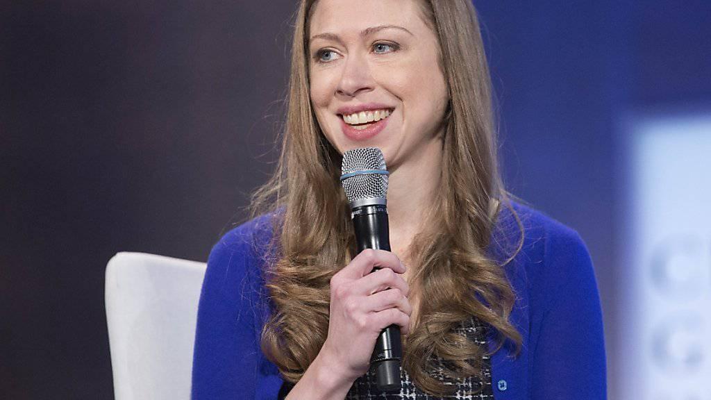 Baby Nummer 2: Ex-Präsidententochter Chelsea Clinton ist in freudiger Erwartung. (Archiv)