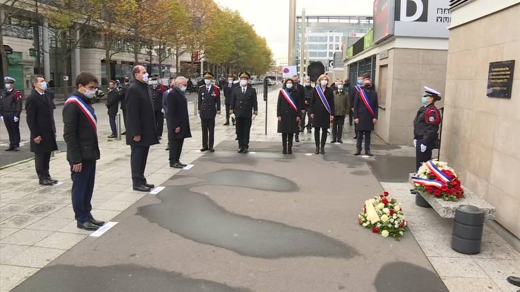 Frankreich: Gedenkfeier an Pariser Terroranschläge mit 130 Todesopfern