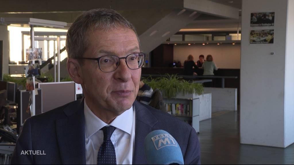 Emotionaler Rücktritt: Urs Hofmann blickt auf Amtszeit zurück