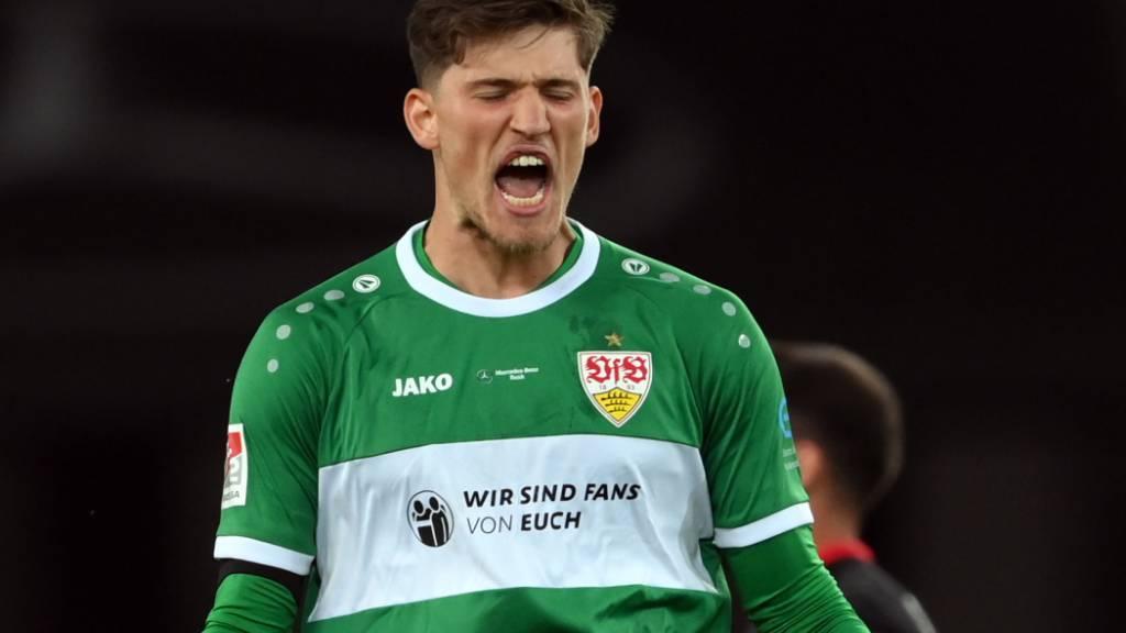 Goalie Kobel von Stuttgart übernommen