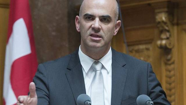 Hochpolitische Jugend: Bundesrat Alain Berset (Archiv)