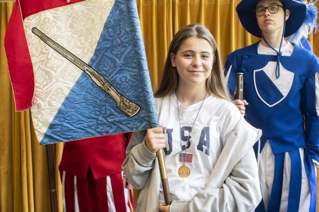 Letzmals Mal konnte das Knabenschiessen vor vier Jahren ein Mädchen als Schützenkönigin feiern.