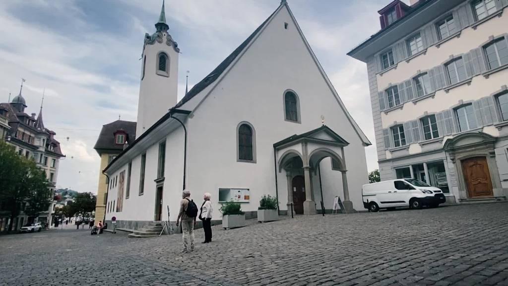 Die Luzerner Peterskapelle gibt es jetzt auch digital