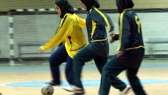 Fussball und Kopftuch