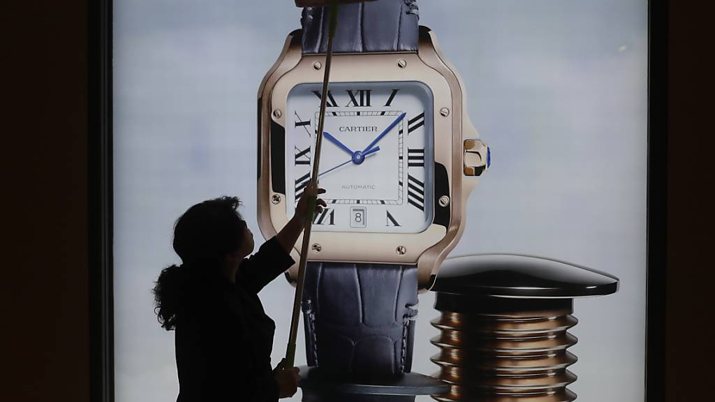 Der Hersteller von Schmuck und Uhren mit Marken wie Cartier, Piaget oder IWC hat in den vergangenen Monaten unter dem Lockdown und Reisebeschränkungen gelitten. (Archivbild)