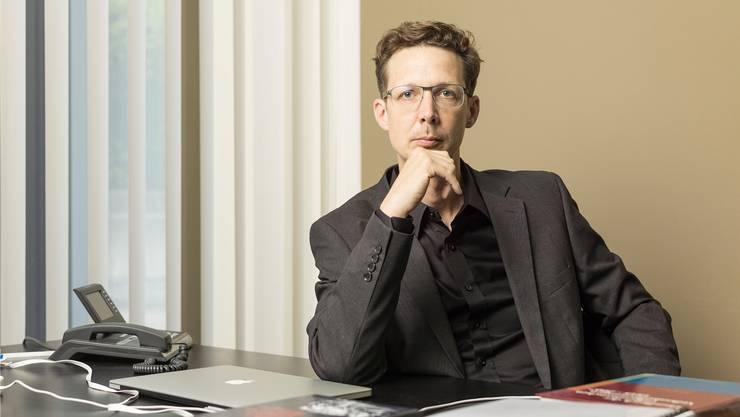 Politologe, Geograf, Unternehmer: Michael Hermann.