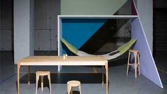 Eine der Ausstellungen im Depot Basel: Zehn Designerinnen und Designer haben neue Wohnvisionen. Flurin Bertschinger