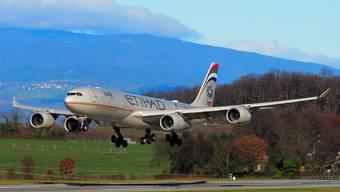 Etihad-Maschine im Anflug: Direktflüge nach Mexiko werden möglich.